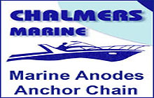 marine anodes, zinc anodes, anchor chain, stainless steel chain